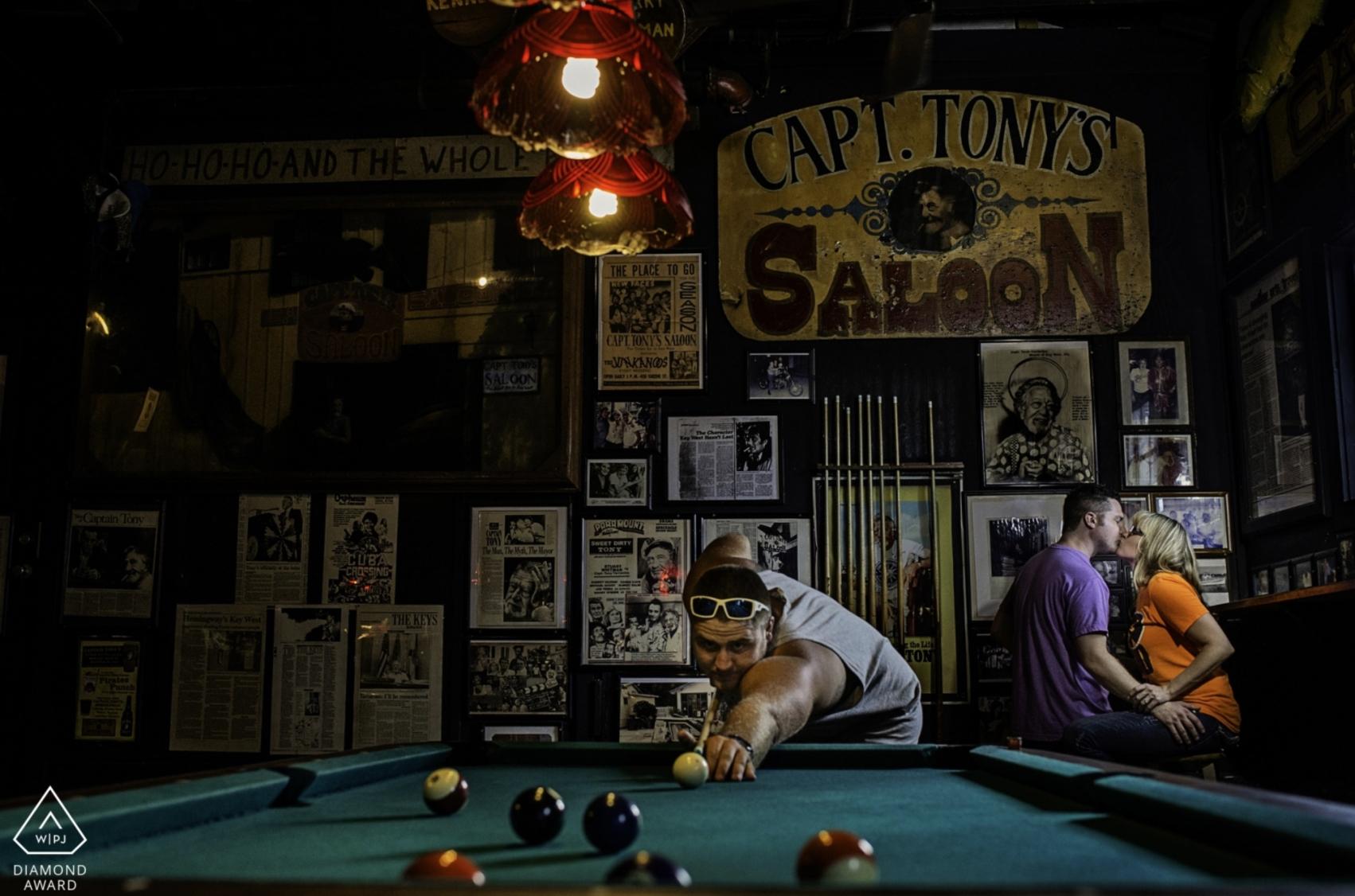 Sloppy Joes Engagement Session Key West