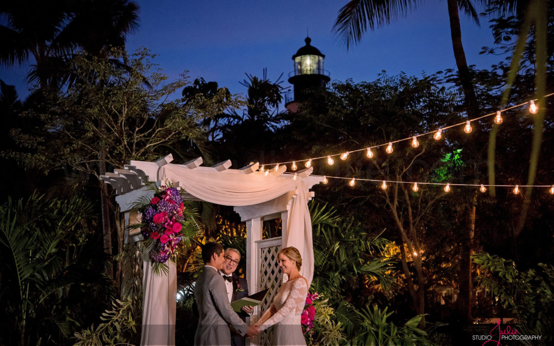 Katie and Enrique – Hemingway House Wedding